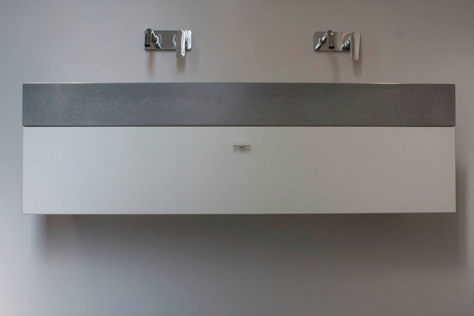 zwevend badkamermeubel meubelmakerij houtkwadraat