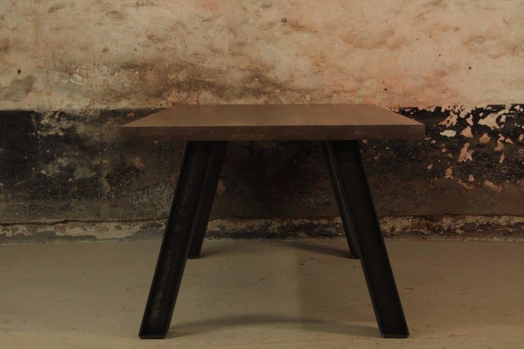 Ronde Tafel Industrieel : Industriele ronde tafel good hot koop hout metalen salontafel