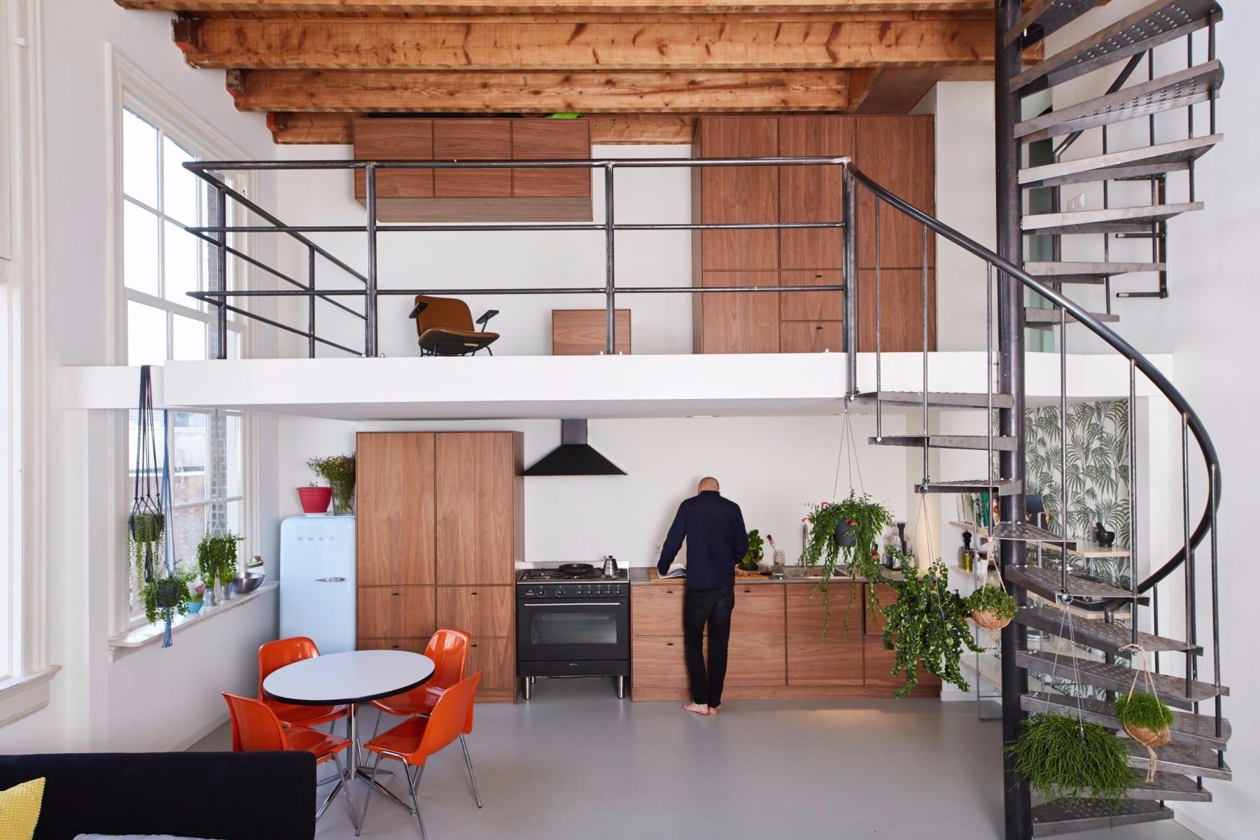 Industriele keuken ontwerp inspiratie het beste interieur - Deco keuken ontwerp ...