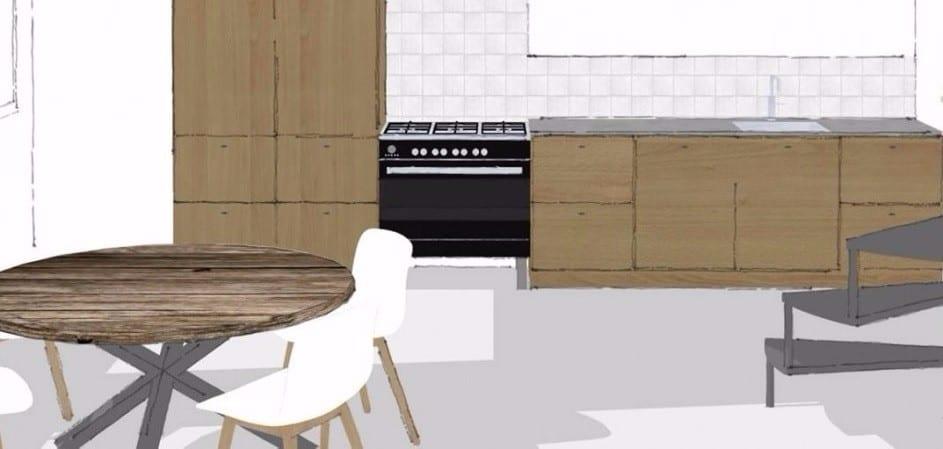 Keuken op maat meubelmakerij houtkwadraat - Keukenontwerp ...